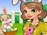 Vestir menina para Páscoa