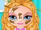 Bebê Barbie banho de chuveiro