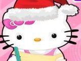 Limpar casa do natal Hello Kitty