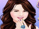 Pintar unhas Selena Gomez