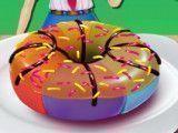 Fazer donuts colorido