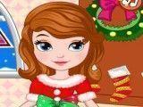 Sofia roupinha do natal
