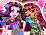 Amigas Monster High moda