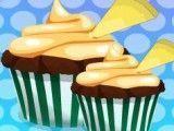 Elsa fazer cupcakes de baunilha