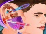 Justin Bieber cuidar do ouvido infectado