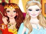 Princesas gelo e fogo