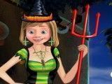 Fantasiar Riley para Halloween