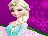 Elsa pedicure pintar unhas