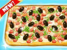 Receita de pizza de camarão