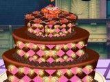 Decorar bolo de chocolate do Halloween