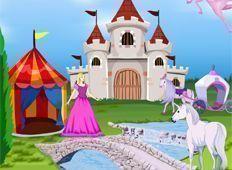 Decoração da Barbie no castelo