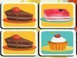 Jogo da memória do bolo