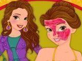 Princesa Bela tratamento facial no spa