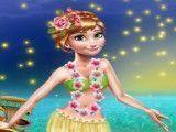 Anna roupas no Hawaí