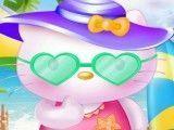 Hello Kitty na praia