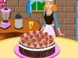 Cinderela fazer bolo