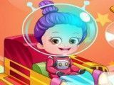 Vestir piloto bebê Hazel