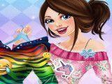Barbie estilista blusa de frio