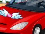 Carro limpeza e decoração