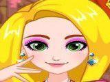 Rapunzel achar itens da maquiagem