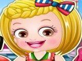 Bebê Hazel moda cabeleireira
