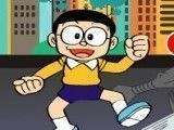 Doraemon luta dos inimigos