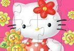 Quebra cabeça Hello Kitty