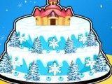 Bolo Frozen castelo