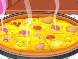 Preparar pizza rápida
