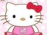 Hello Kitty roupas da escola