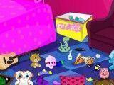 Limpeza do quarto da Emo