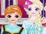 Maquiagem da Elsa e Anna Frozen