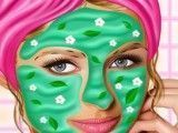 Paris Hilton no spa