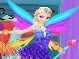 Elsa vestir moda fada