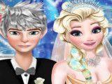 Jack e Elsa casamento vestir