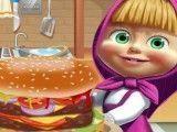Masha receita de sanduíche