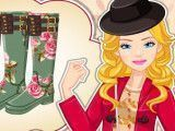 Botas da Barbie decorar