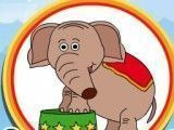 Colorir livro do circo