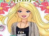 Barbie no camping maquiar e vestir