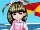 Vestir bebê na praia