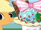 Decorar sorvete My Little Pony