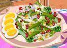 Receita de salada verde com Sara