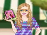 Barbie roupas do selfie