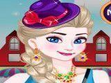 Roupas para Elsa no shopping