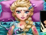 Elsa grávida na emergência