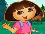 Dora no camping