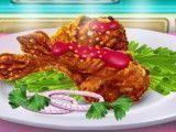 Receita de frango frito