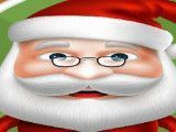 Papai Noel preparar biscoitos de açúcar