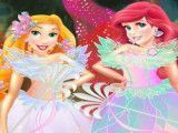 Fada Rapunzel e Ariel