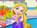 Rapunzel decorar festa da piscina